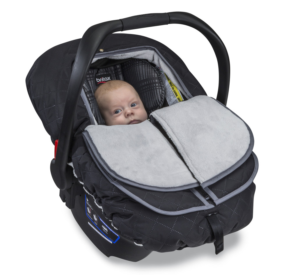 Insulated Infant Car Seat Cover