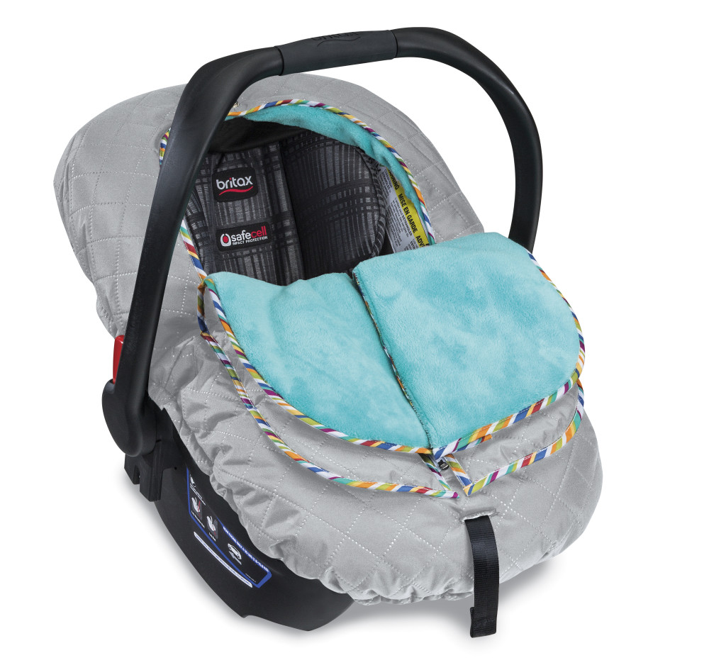 New Britax B Warm Insulated Infant Car Seat Cover And