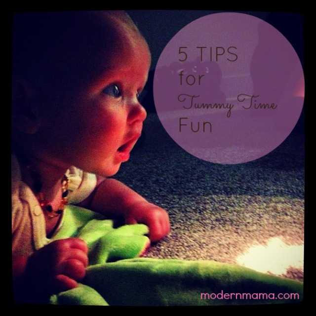 5 Tips for Tummy Time Fun