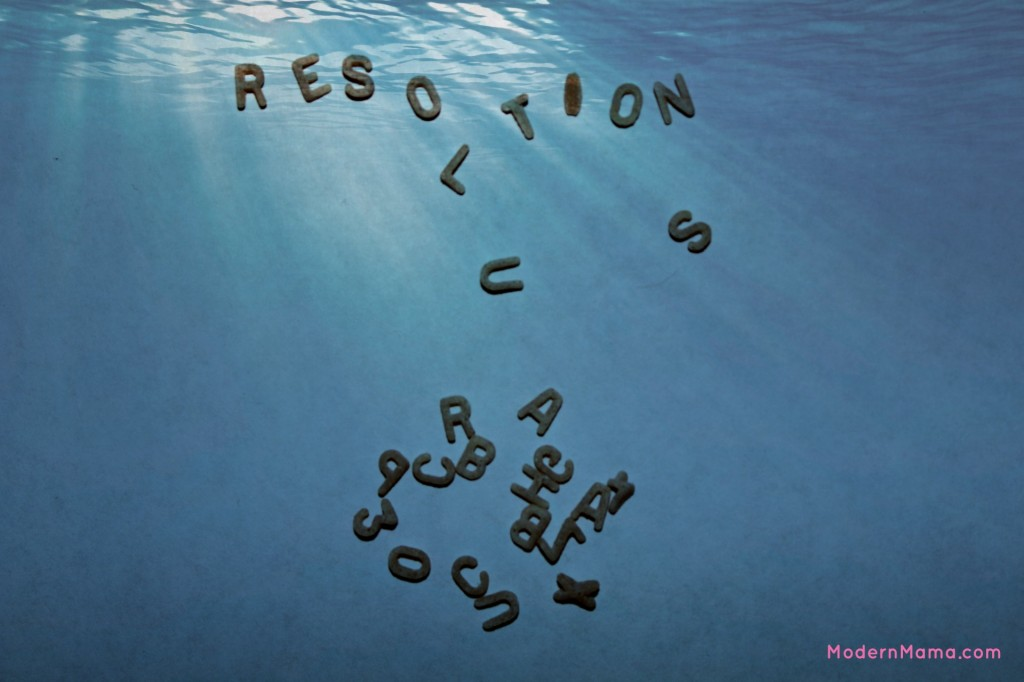 No resolutions 2014