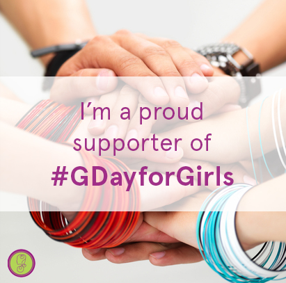 G Day for Girls, proud supporter