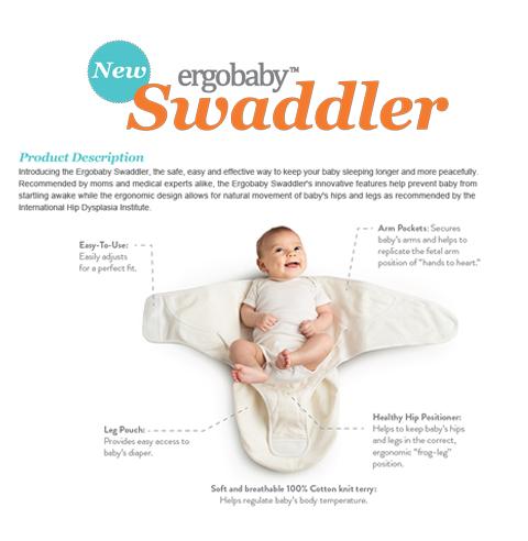 ergo Swaddler-email blast