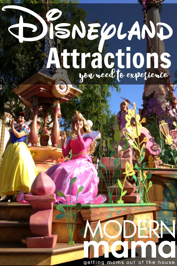 disneyland attractions