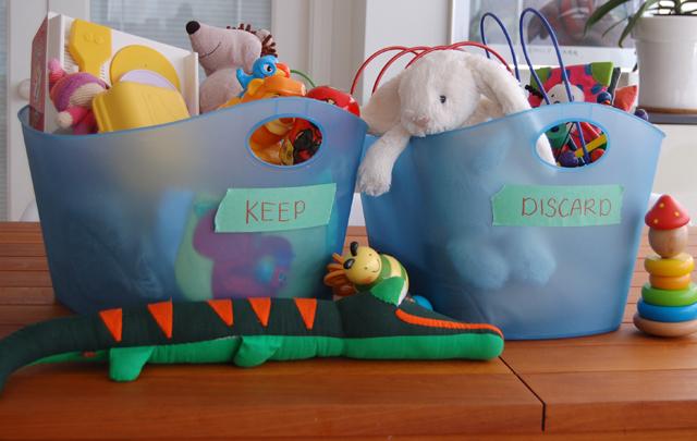 Keep Discard Toys