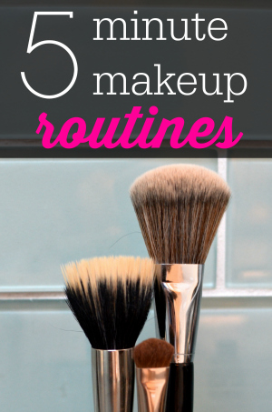 5-minute-makeup-routines