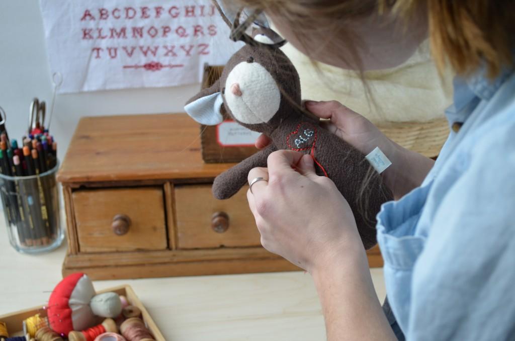 013 Jane in Workshop