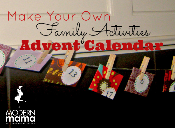 advent make your own