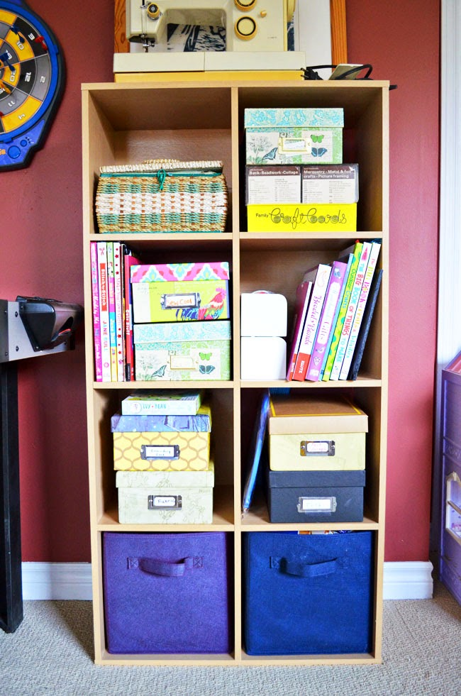 crafting cubby