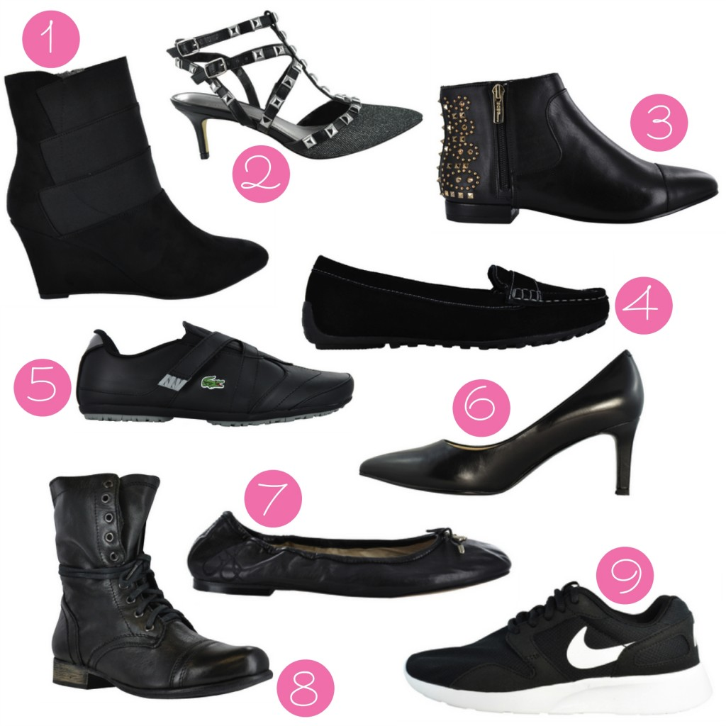 womens fall shoes numbered