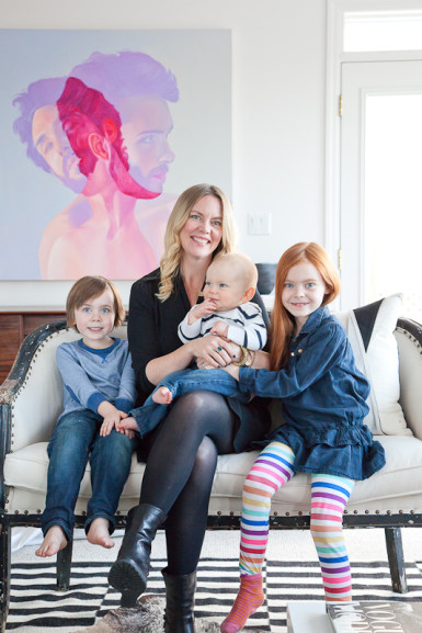 Christine Dovey and family