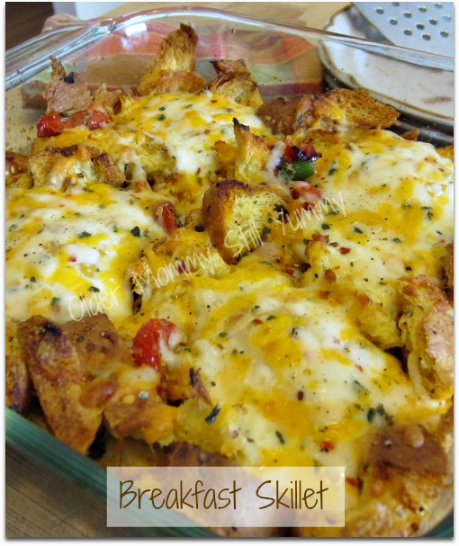 egg skillet breakfast