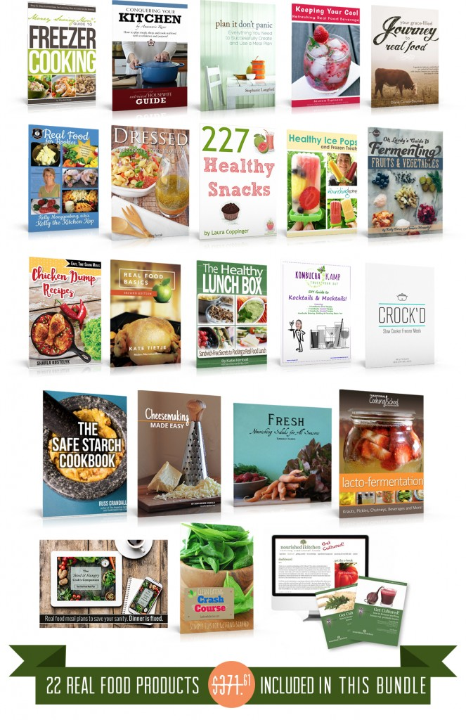 real food bookshelf
