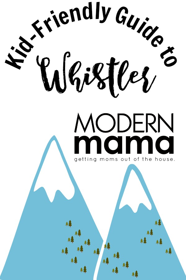 kid friendly guide to whistler