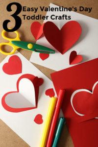 Valentine's Day Toddler Crafts