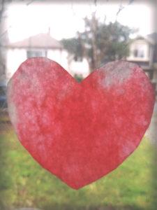 heart suncatcher