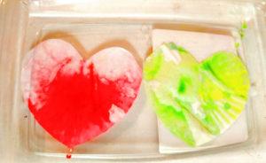 suncatcher valentine day craft