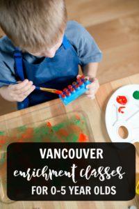 Vancouver enrichment classes