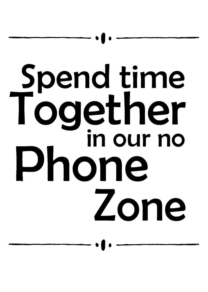 No Phone Zone