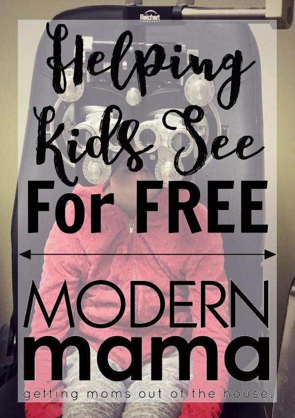 Helping Kids See