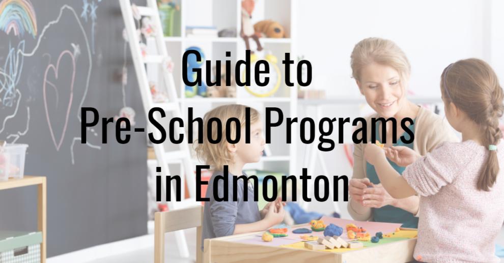 Preschools in Edmonton
