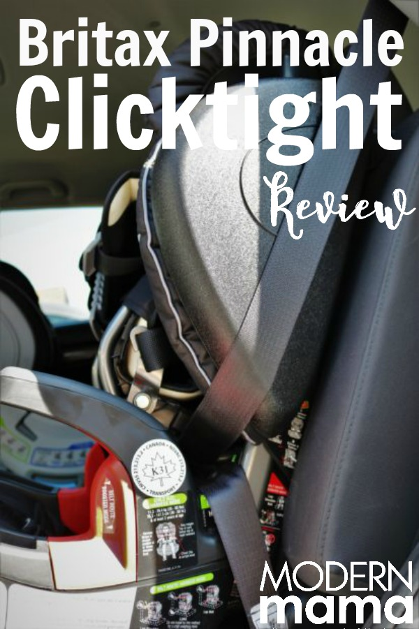 Britax Pinnacle clickthrough