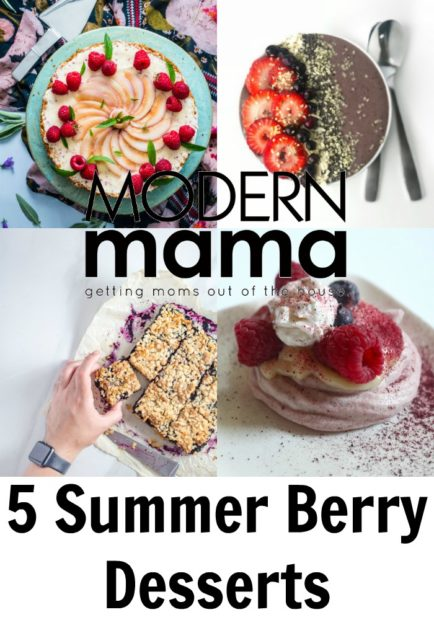 Summer Berry Desserts