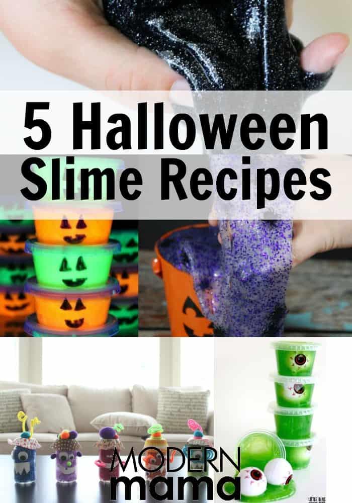 Halloween Slime Recipes