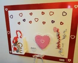 Posterboard sized valentine card