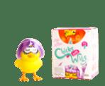Easter Basket Toy Chicks