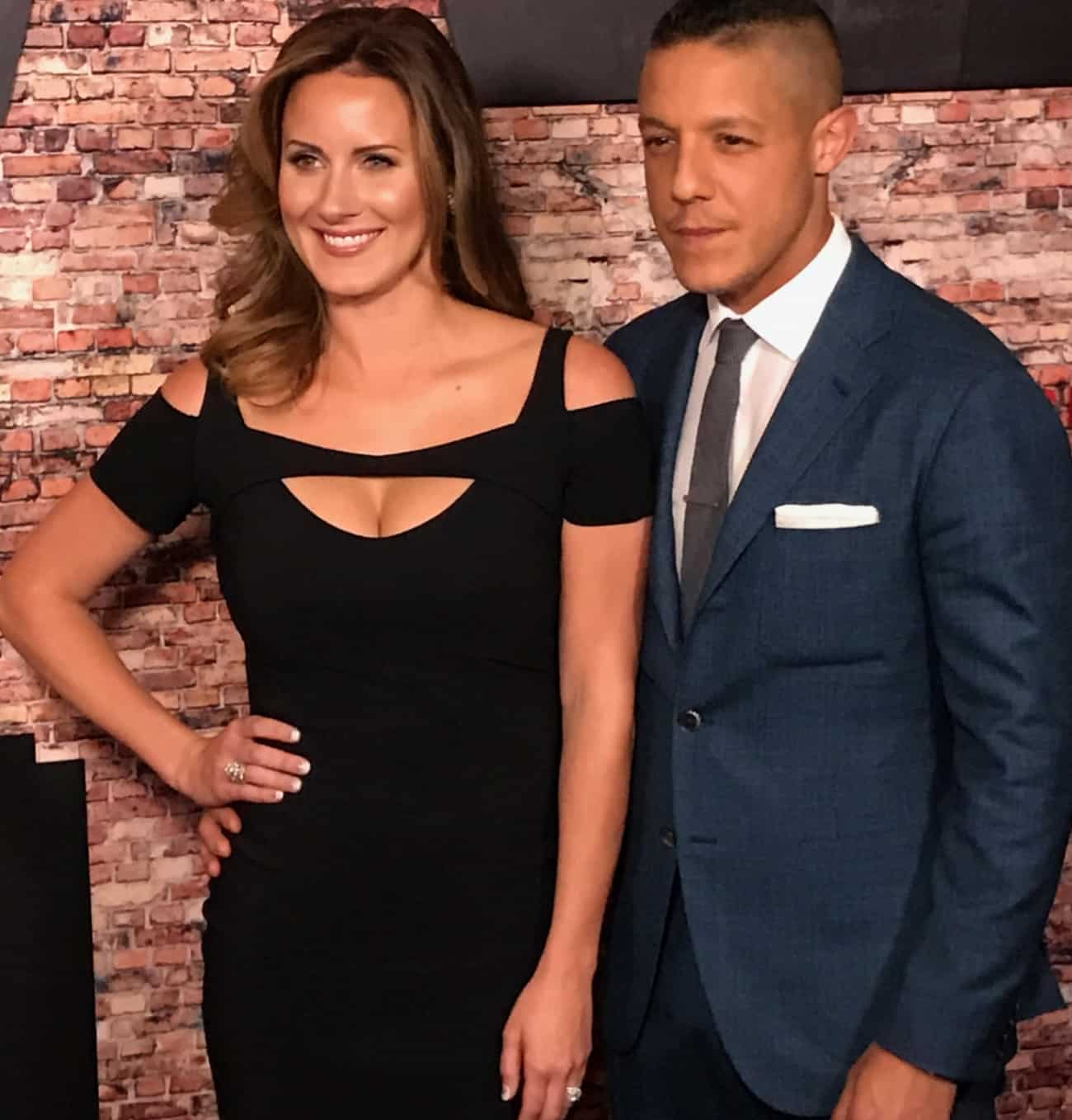 Meghan and Theo Rossi
