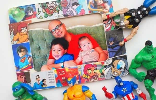 Comic Book Picture Frame