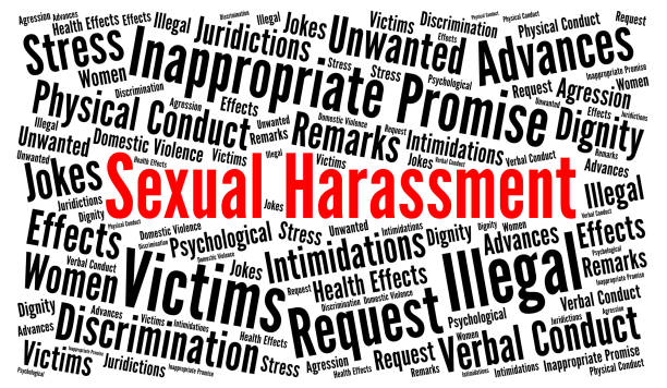 Sexual Harassment Word Graphic
