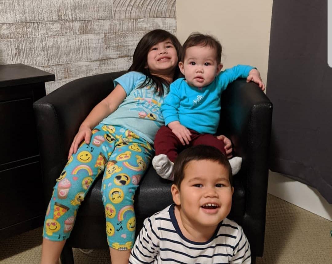 Chastin's 3 children