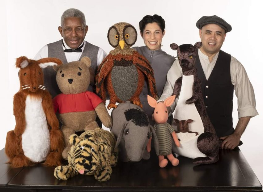 Cast of House At Pooh Corner