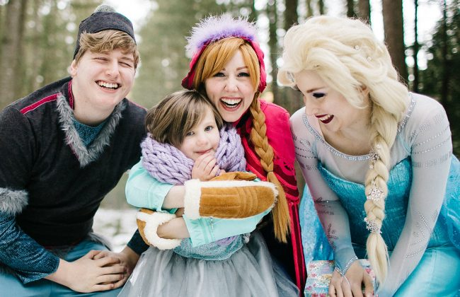 Princesses from Frozen