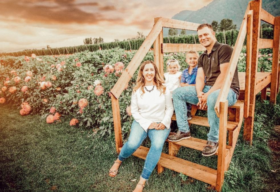 Laura Hoyda and Family