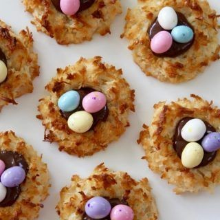Coconut Mini Egg Cookies
