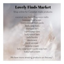 Lovely Finds Market - Product List
