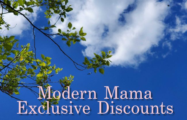 Modern Mama Exclusive Discounts