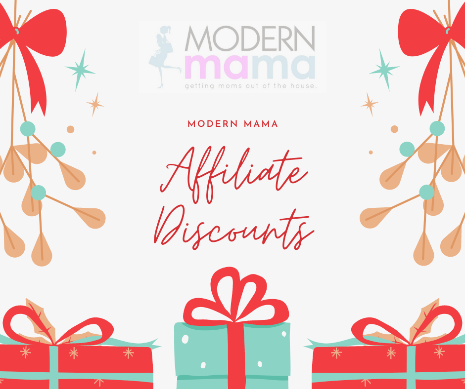 Discounts negotiated just for Modern Mama followers