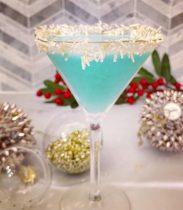 Vanilla Snowflake Martini