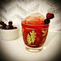 Cranberry Smash Advent Cocktail