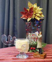 Rum and Eggnog in a moose mug