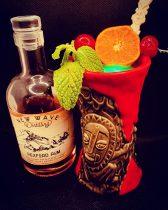 Zombie Tiki Cocktail