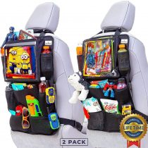 Durable Car Seat Organizer and Kick mat