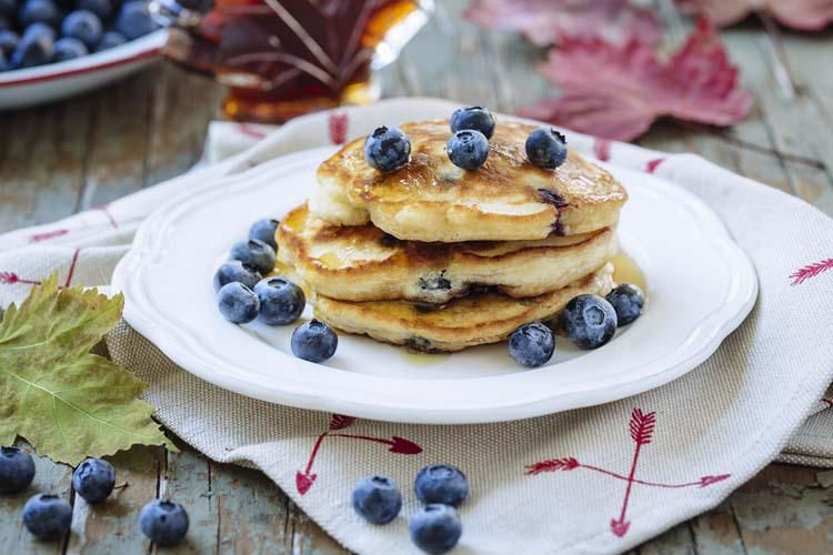 Blueberry Pancake Day