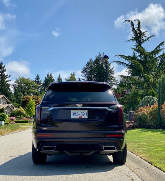 Cadillac XT6 3-row SUV