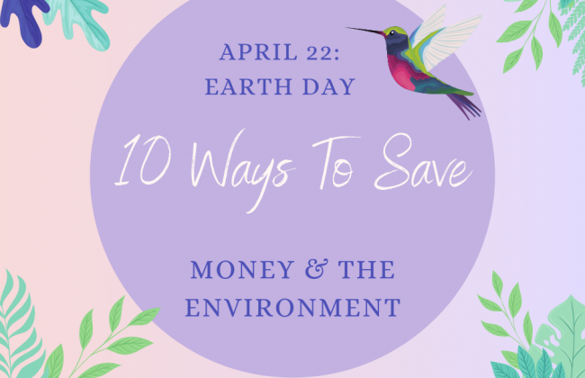 Saving Money and the Environment