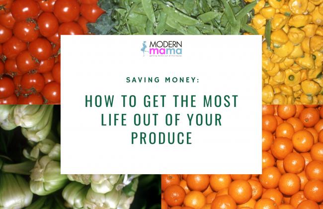 Saving Money: Produce
