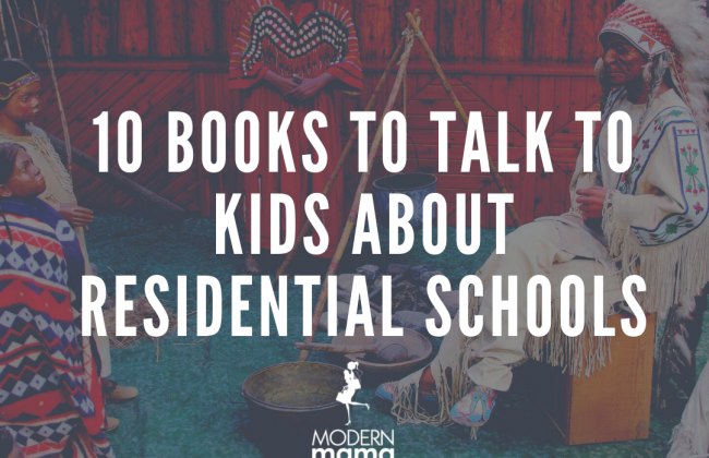 10 books about residential schools